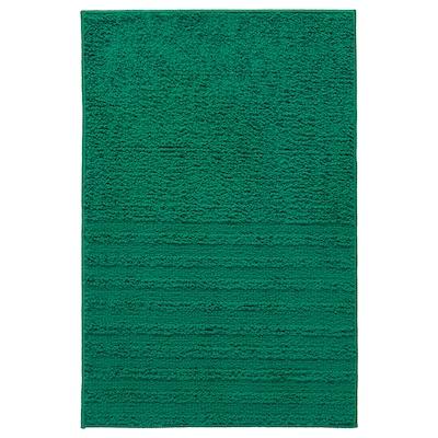 VINNFAR 维纳法 浴室地垫, 深绿色, 40x60 厘米