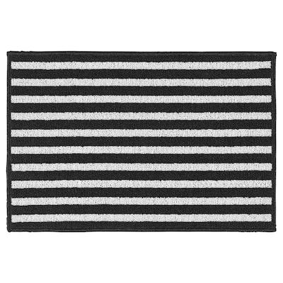 VINSTRUP 温斯特鲁普 门垫, 黑/灰, 40x60 厘米