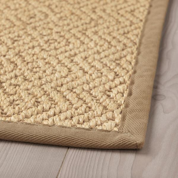 里斯特奥 平织地毯 自然色 150 厘米 80 厘米 8 毫米 1.20 平方米 2840 克/平方米