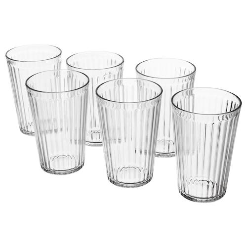 瓦达恩 杯子, 透明玻璃, 43 厘升