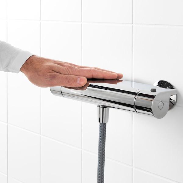 瓦拉莫瑟 恒温淋浴水混合器, 镀铬, 150 毫米