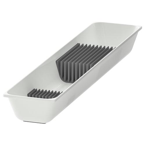 瓦瑞拉 刀具托盘, 白色, 10x50 厘米