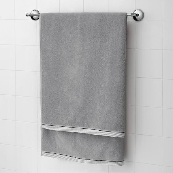 维克夫亚德 浴巾, 灰色, 100x150 厘米