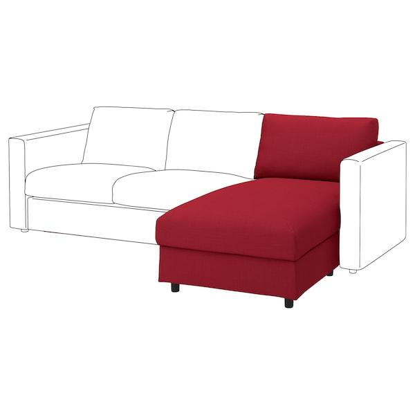 维姆勒 贵妃椅套, 诺瓦拉 红色