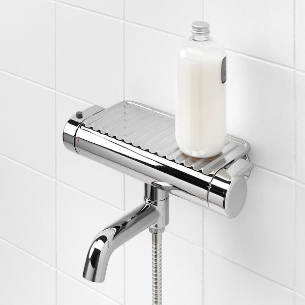 沃斯南 恒温盆浴/淋浴水混合器, 镀铬, 150 毫米