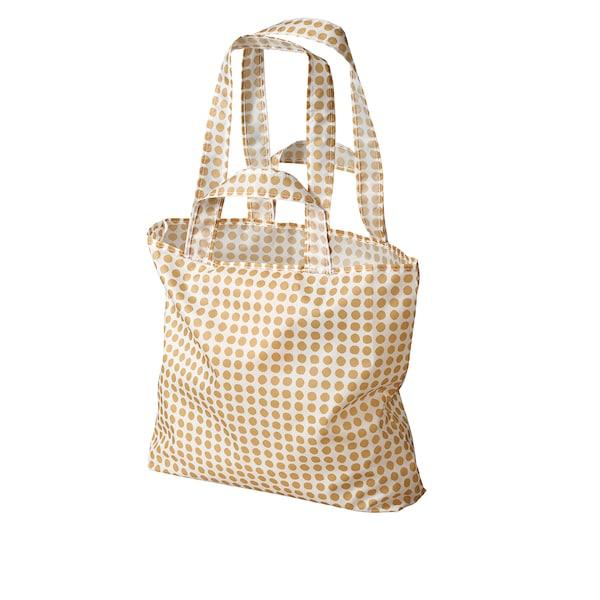 辛恩格 手提袋, 黄色/白色