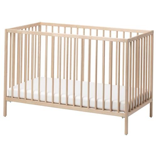 辛格莱 婴儿床, 桦木, 60x120 厘米