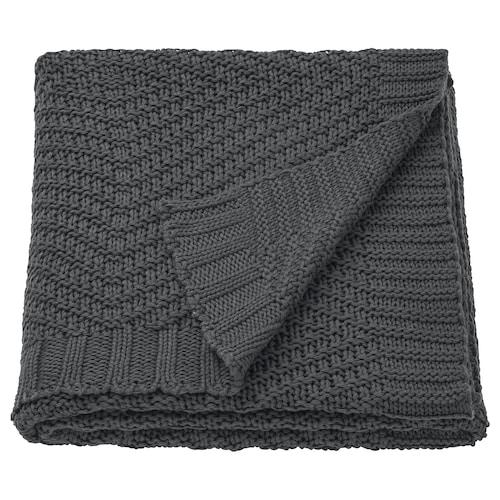 耶利安 休闲毯, 深灰色, 130x170 厘米