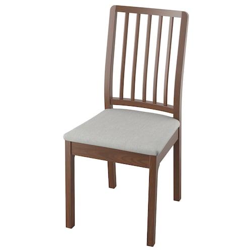 伊克多兰 椅子, 褐色/欧斯塔 淡灰色