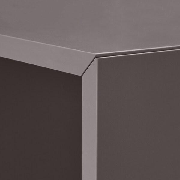 伊克特 壁柜组合, 深灰色, 175x35x210 厘米