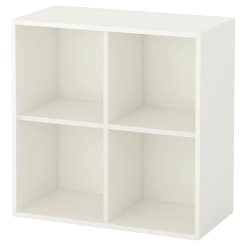 伊克特 四格柜, 白色, 70x35x70 厘米