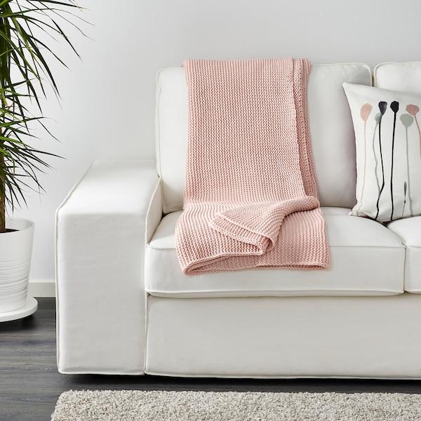 因阿布里塔 休闲毯, 浅粉色, 130x170 厘米