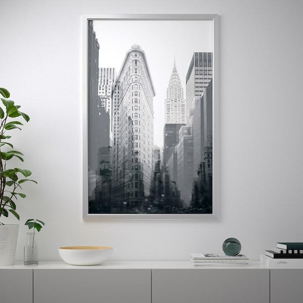 约纳斯塔 图片,带画框, 纽约/铝色, 118x78 厘米