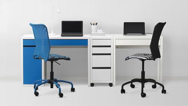书桌和办公桌