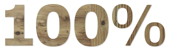 2017年,宜家实现了木材来源100%更可持续的目标,且来源国仅限于几个符合标准的国家。