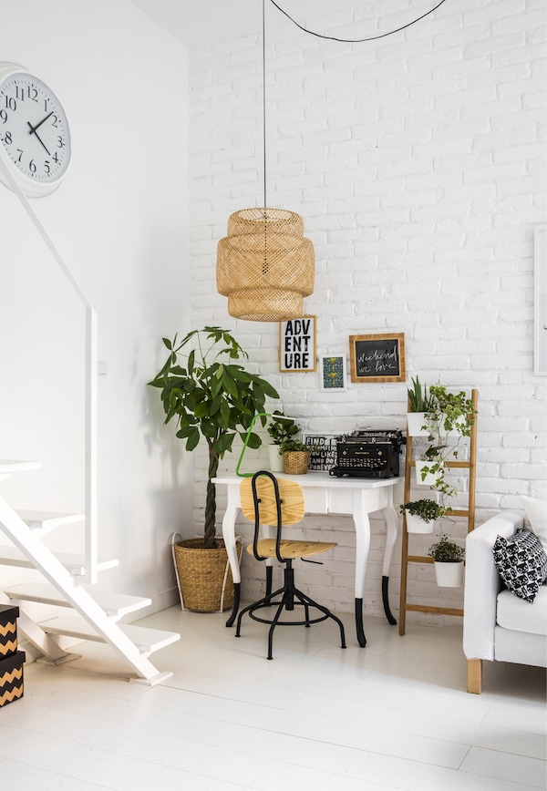 Add a desk for a home office