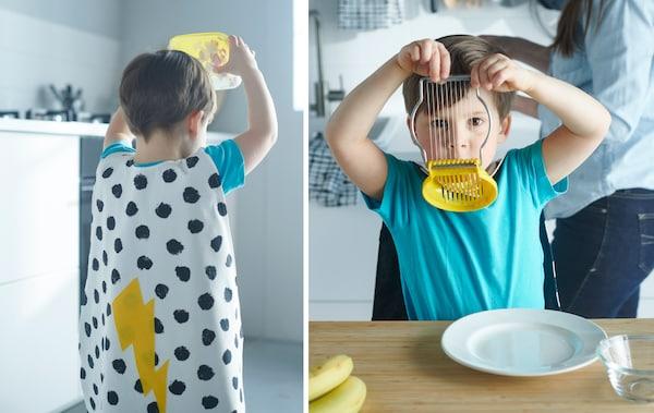 把蒜瓣放在塑料容器里摇晃,就能让去皮的工作变得像孩子的游戏一样有趣。