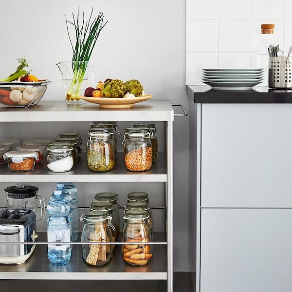 宝藏一般的独立橱柜:化身4种厨房小能手。