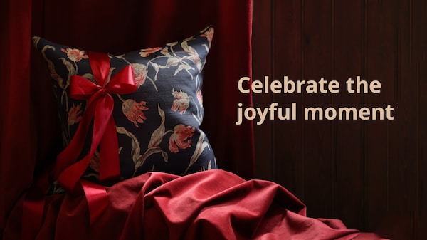 Celebrate the joyful moment