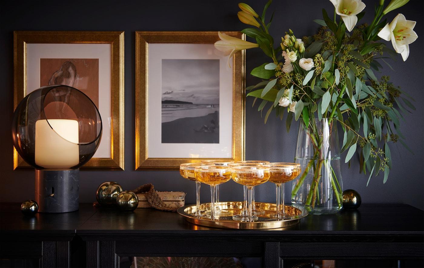 打算用闪闪发光的金饰和香槟迎接新年?我们为你准备了一些时髦又实惠的创意。