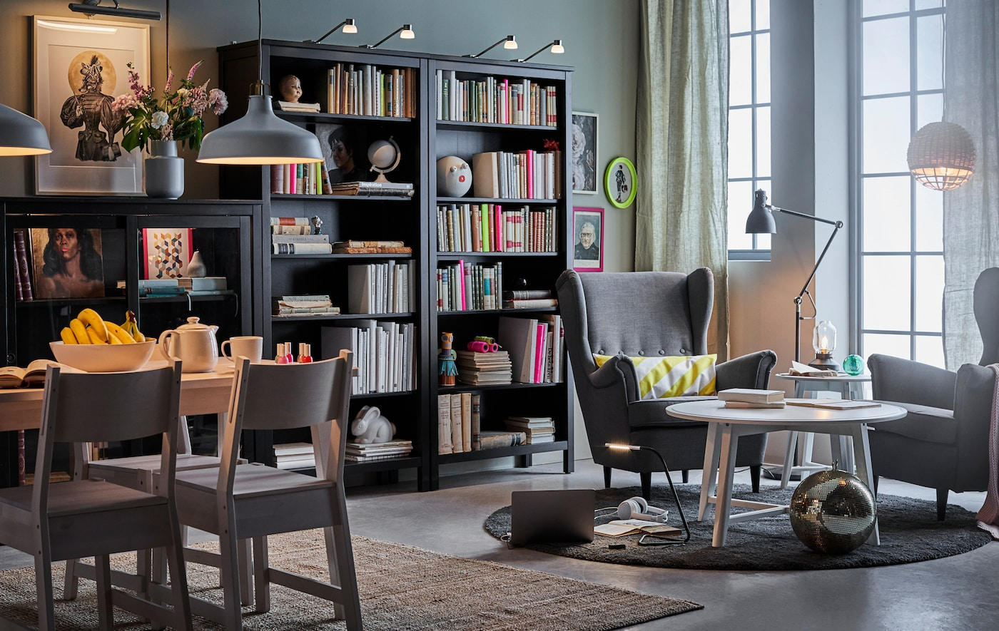 Direct the light exactly where you want it with this adjustable LED ARÖD reading and floor lamp from IKEA.
