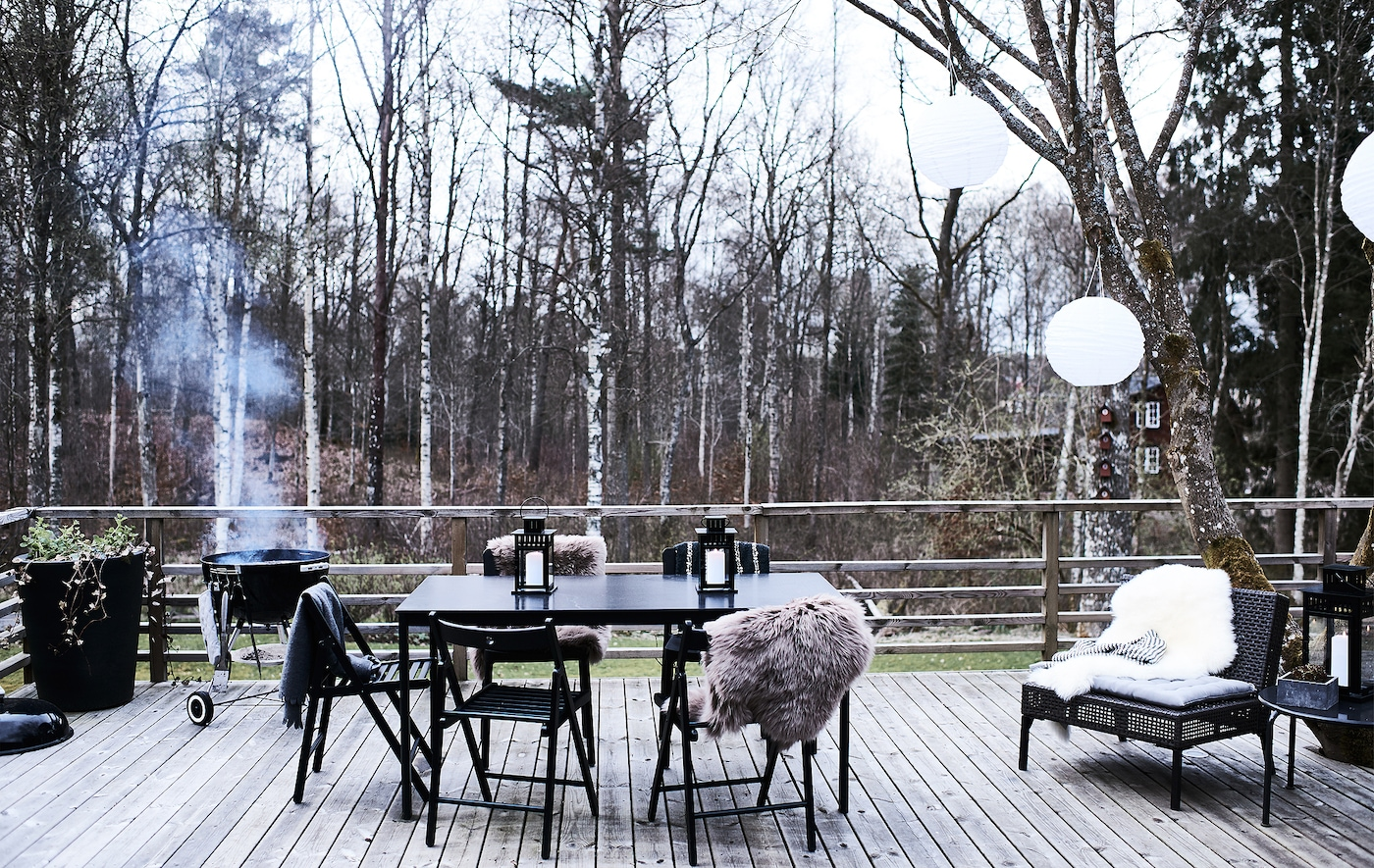 Entertain outdoors all year round.