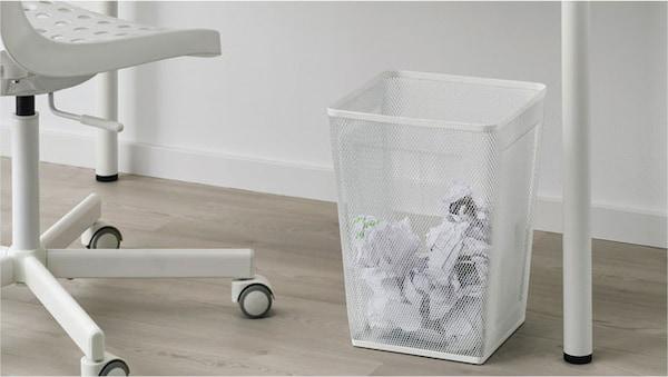 废纸篓和储物袋