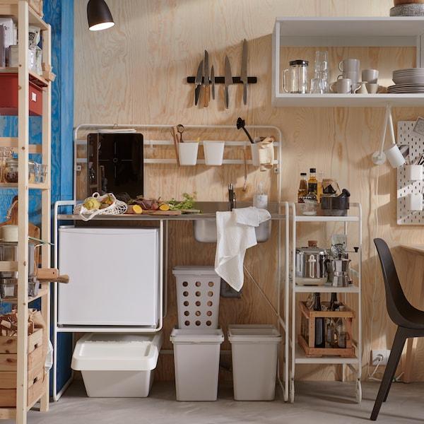 花更少的钱充分利用厨房空间。