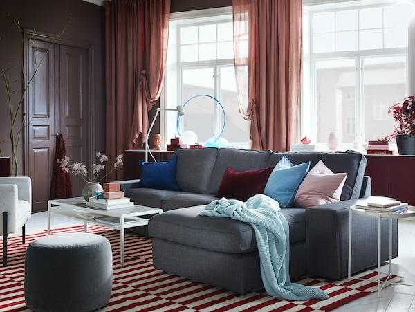 KIVIK 奇维沙发系列——柔软、宽大的现代风格沙发,为你和家人提舒适承托