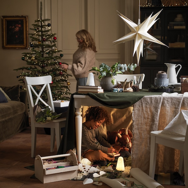 Make your home feel extra-festive.