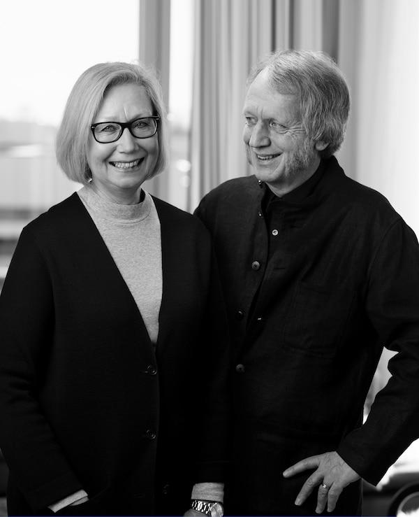 Marianne Hagberg和Knut Hagberg的照片。