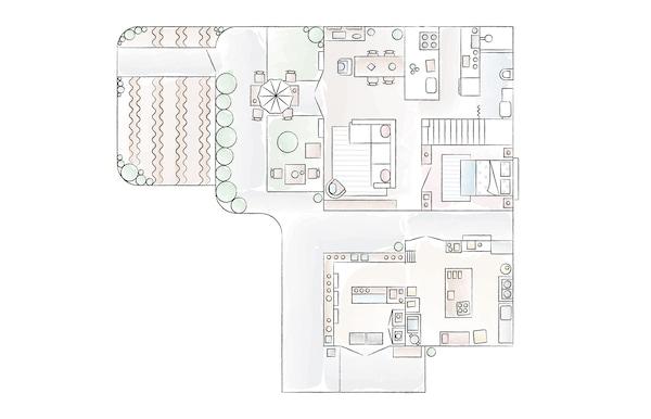 Minako的日本住宅楼层平面图