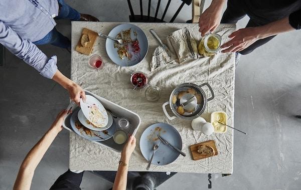 让你的餐后清洁工作更加高效