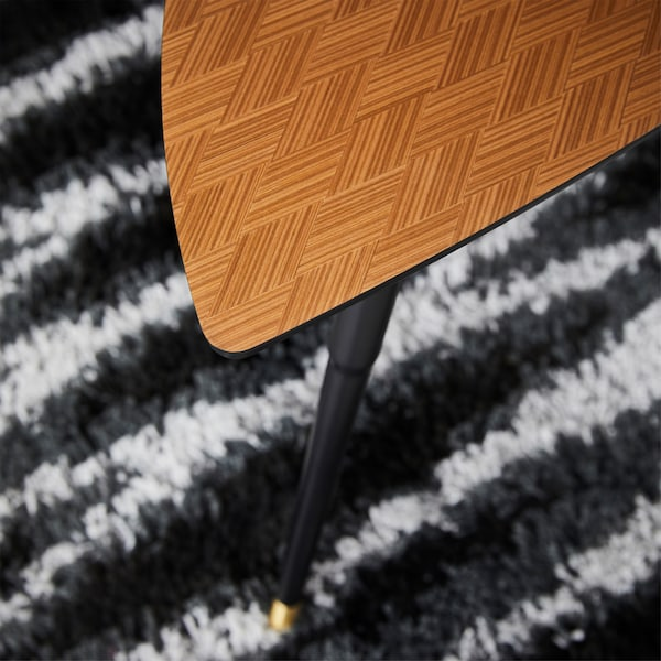 Retro lover? IKEA LÖVBACKEN side table from the GRATULERA vintage collection adds a vibe from the 50-60's to your home.