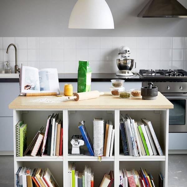 如何打造有助于烘焙的独立橱柜。