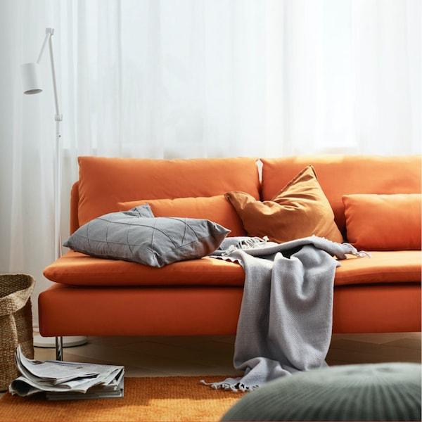 SÖDERHAMN 索德汉——座位宽大,造型百变的现代风格沙发