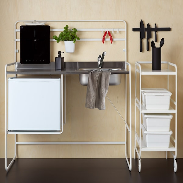 See how easy it can be with a SUNNERSTA mini-kitchen.