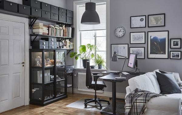 设计一间符合人体工程学的办公室,减少工作疲劳。