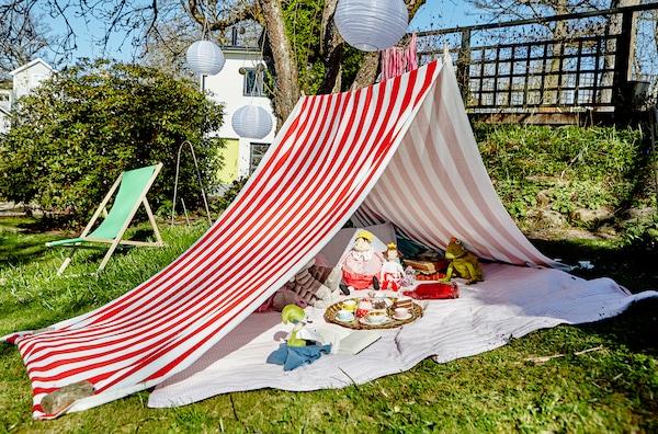 舒适的户外活动帐篷