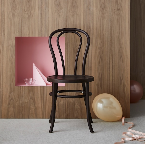 Sit back in time with IKEA BJURÅN chair from the 50-60's edition of GRATULERA vintage collection.