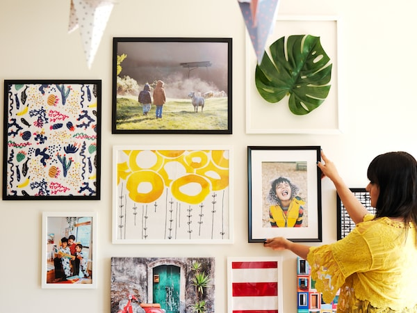 Stories to help with your gallery wall.