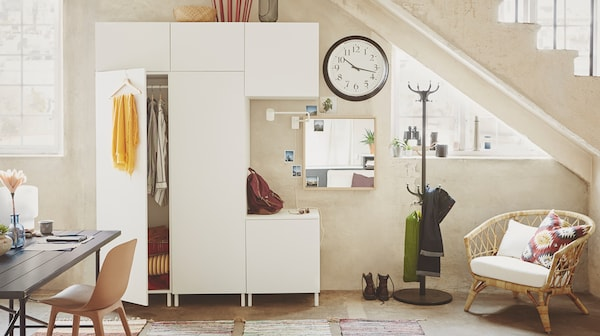 Thanks to smart design and production solutions, IKEA PLATSA uses far less raw material.