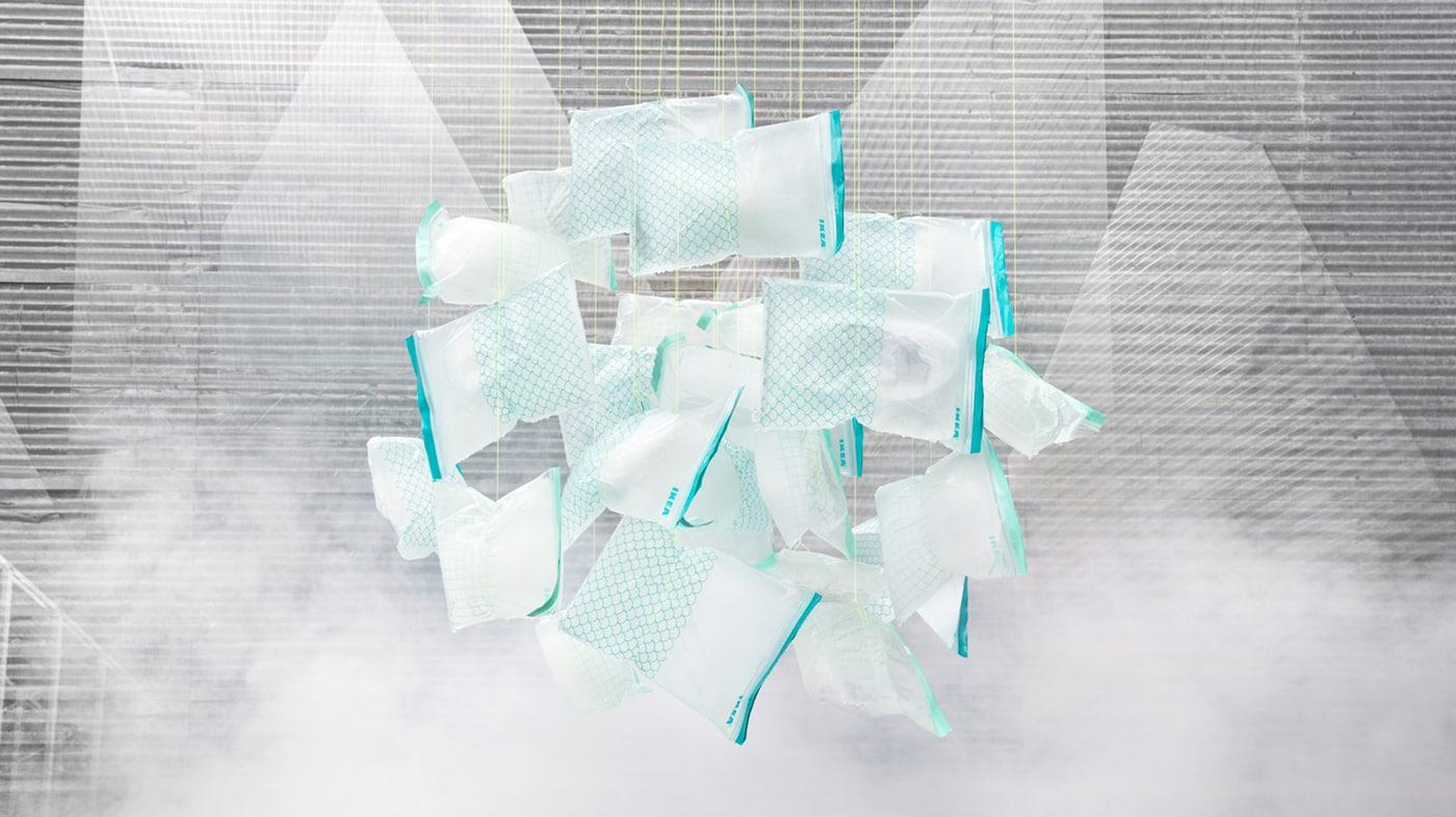 图片:用途广泛的 ISTAD 艾斯塔 可重复密封袋现采用生物塑料制成。这种材料可再生、可回收利用。