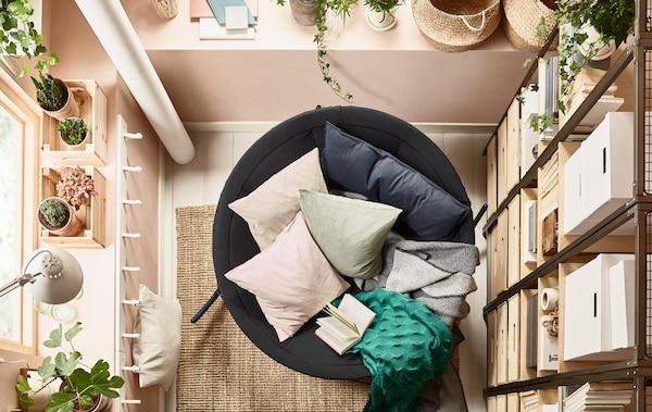 Zen Living Room Decor Ikea