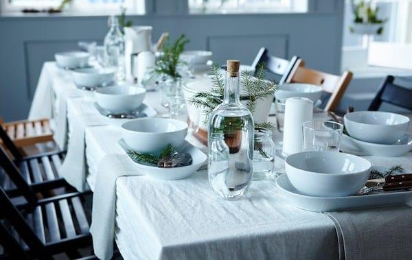 五大打造节日餐桌布置的基本技巧