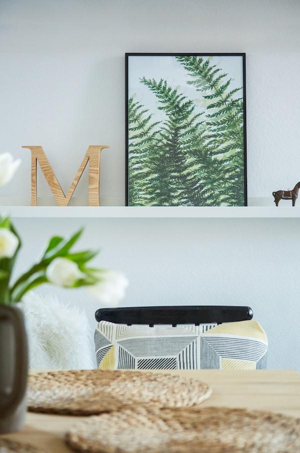 选用灵感源自大自然的艺术品,将户外景色带回家。