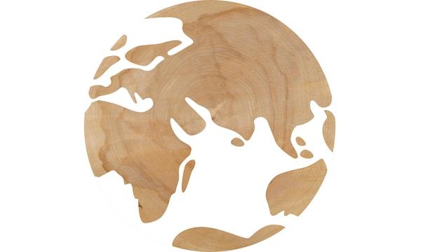 宜家的木材源自全球五十个国家。