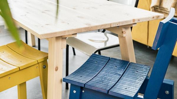 宜家 INDUSTRIELL 英德川 系列所采用的木材充分证明了我们如何合理利用资源。