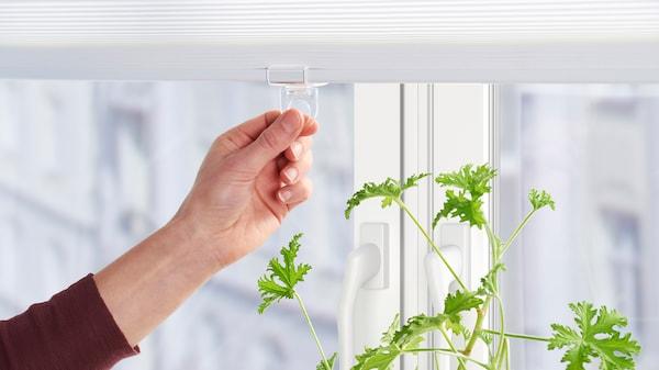 宜家所有的百叶帘都不含线绳,这样可以让家居环境更安全。