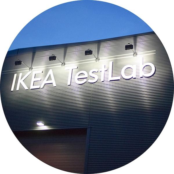 宜家有两个测试实验室,一个位于瑞典的阿姆霍特,另一个位于中国上海。